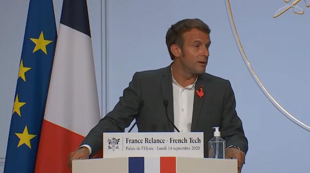 Emmanuel Macron plaide pour une souveraineté numérique européenne
